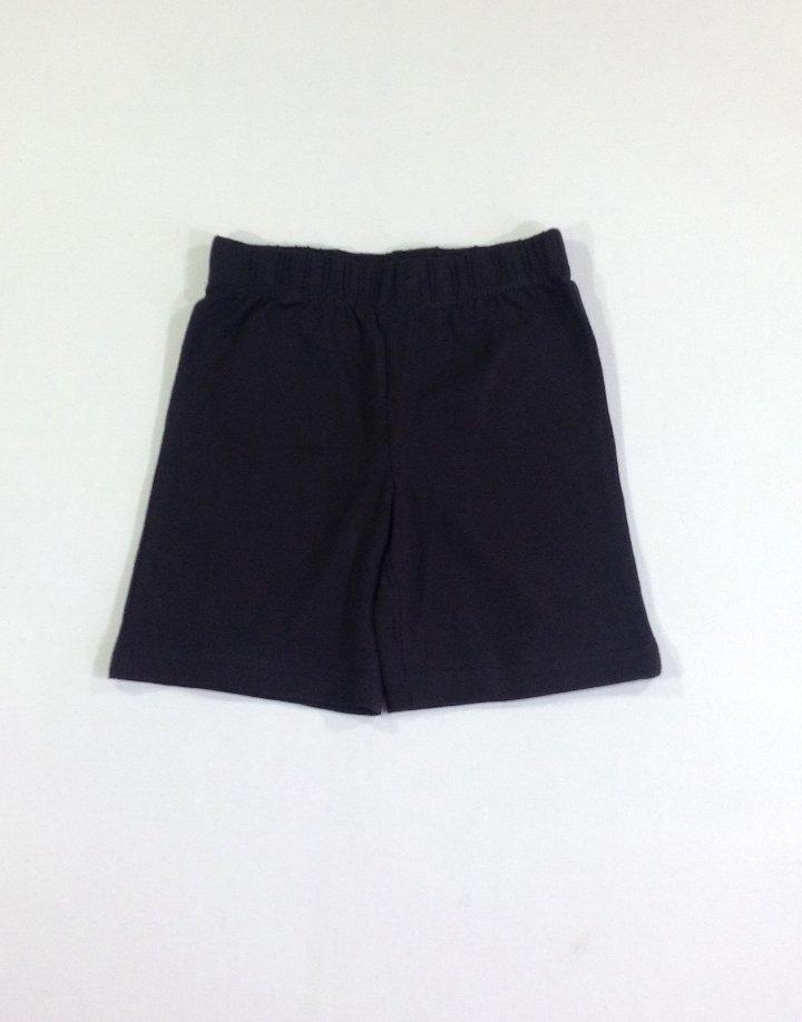 TU fekete rövidnadrág