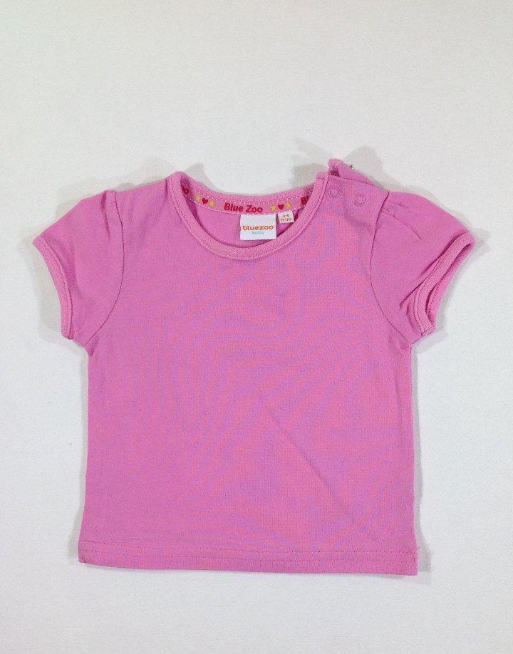 Bluezoo rózsaszín baba póló