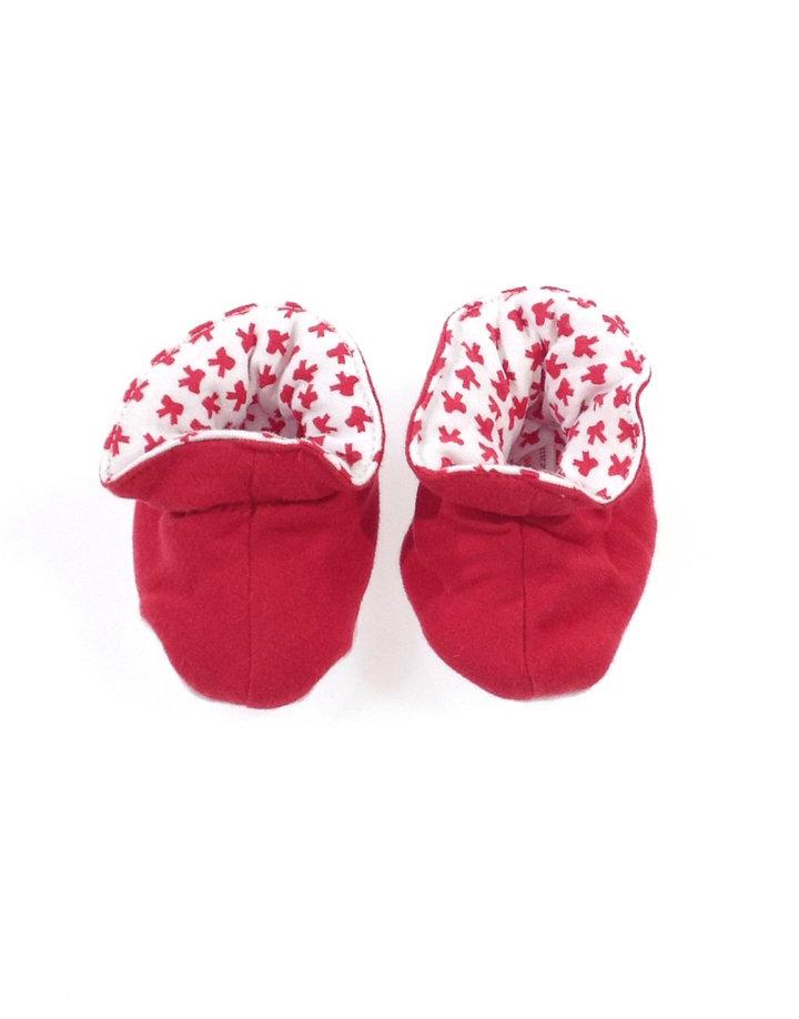 Soft touch piros baba kocsicipő  92f7bbff77