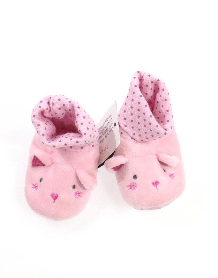 St. Bernard rózsaszín egérke mintás baba kocsicipő  92282f88ae