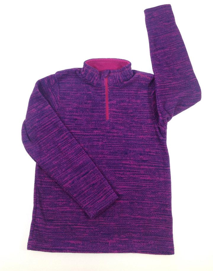 8f644ea008 Decathlon lila kislány polár pulóver | Gyerekruha Klub
