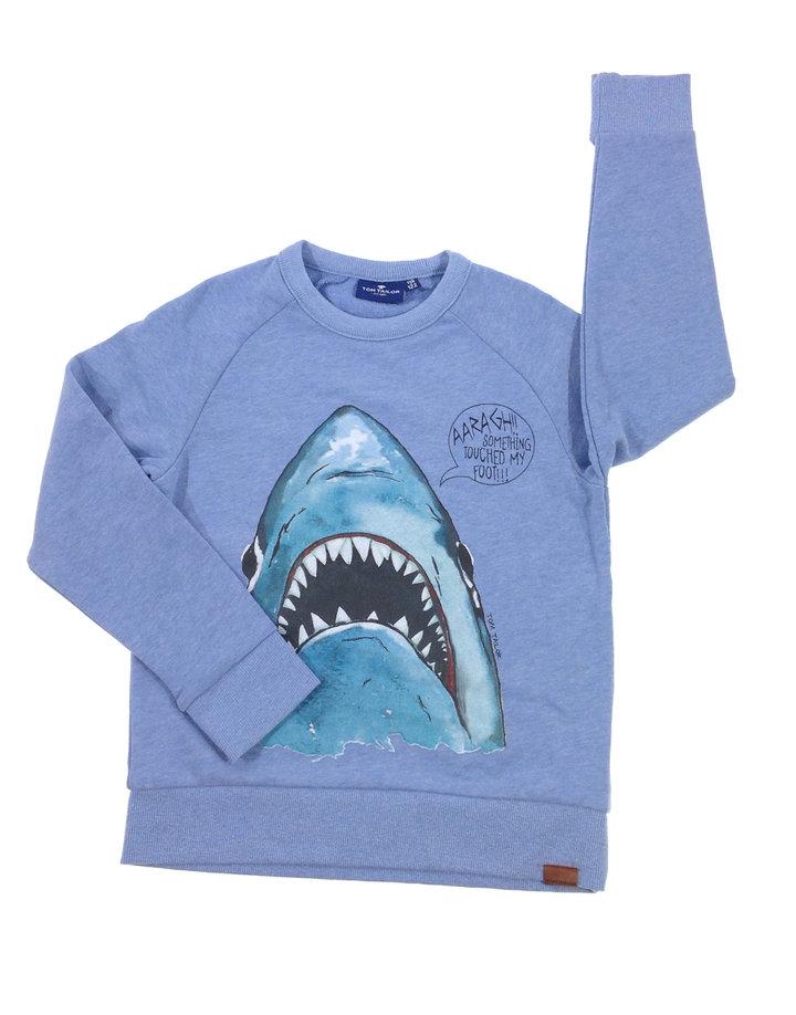 Tom Tailor cápa mintás kisfiú pulóver  3b82488368