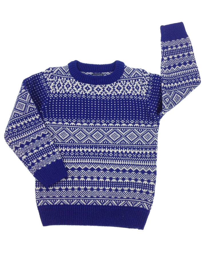 Next kötött mintás kisfiú pulóver  b02862b3f6