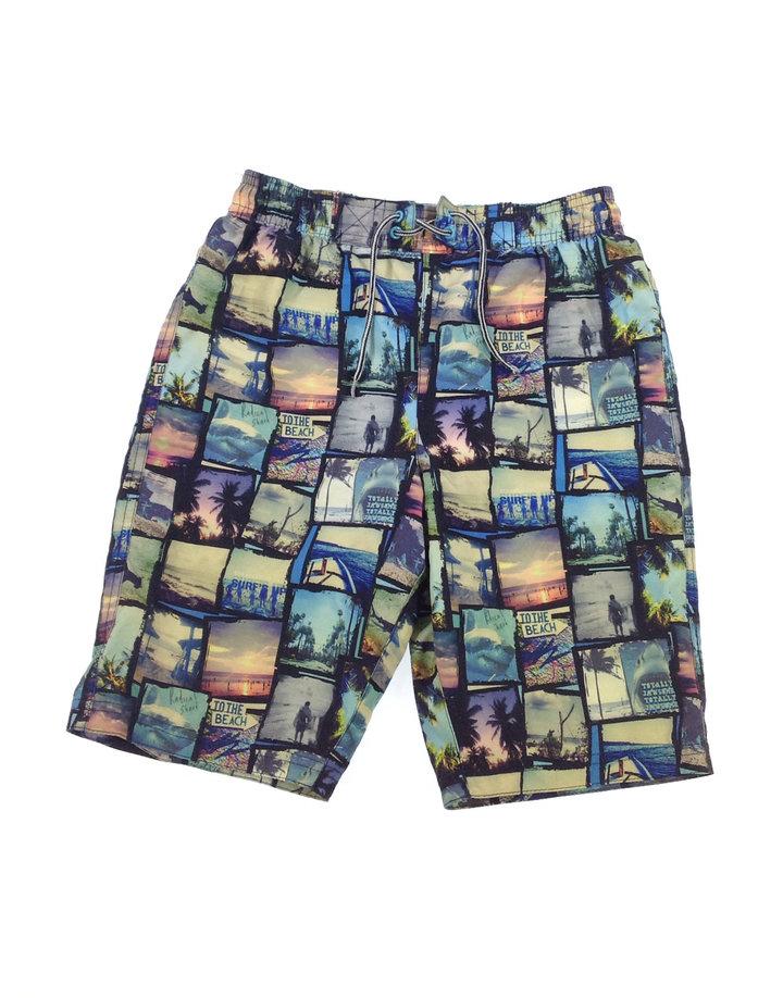 92f19d98fe Marks&Spencer mozaik mintás kisfiú úszónadrág | Gyerekruha Klub