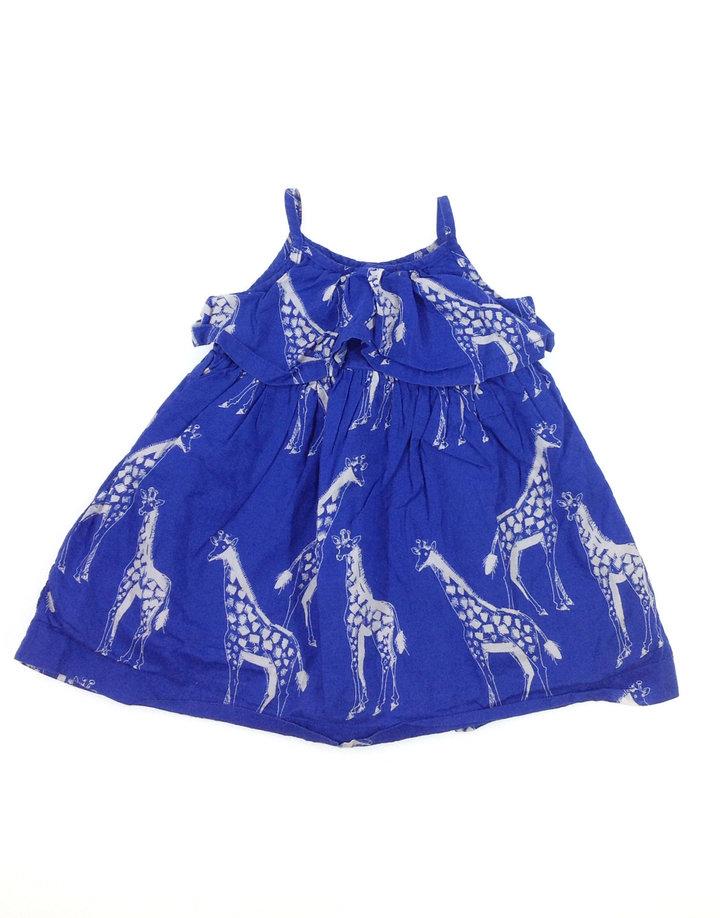 Gap zsiráf mintás kislány fodros ruha  85ee1b36b0