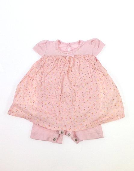 f3340b58cb George apró virág mintás baba ruha