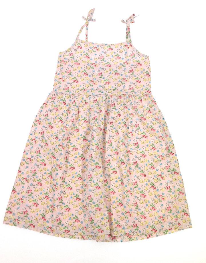 Next rózsaszín virág mintás kislány ruha  23f51794eb