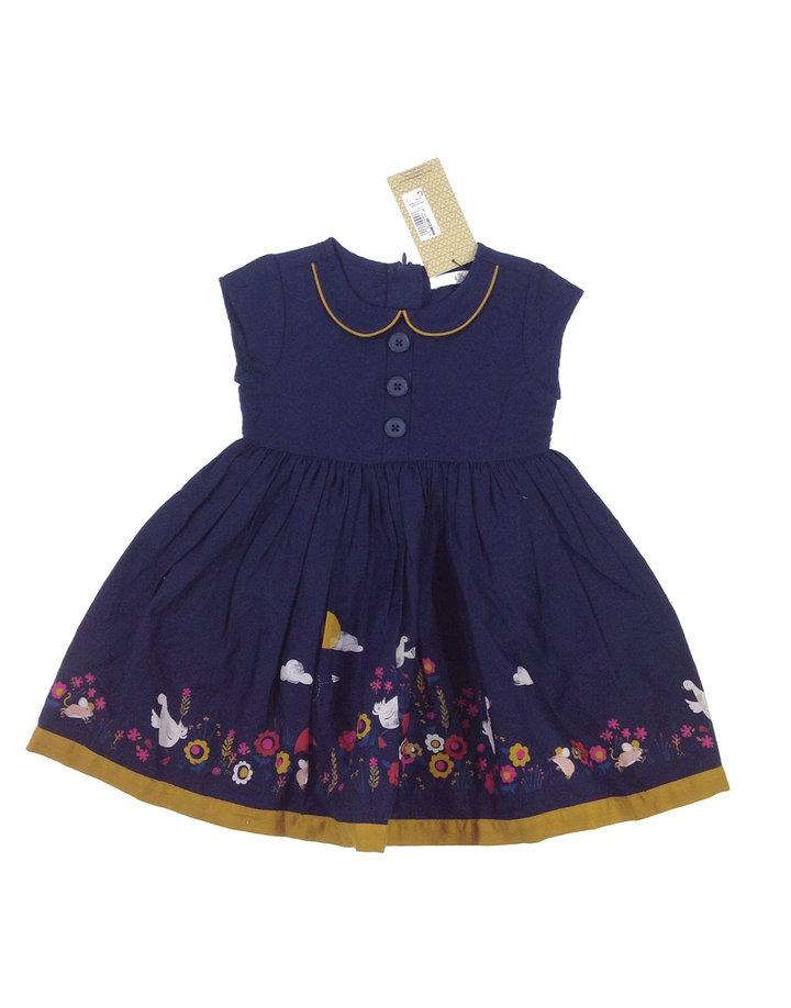 Marks Spencer liba mintás kislány elegáns ruha  528d8972ac