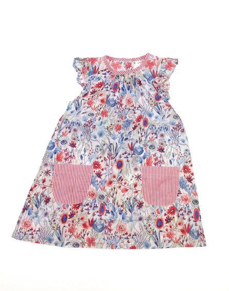 Next virág mintás fehér kislány ruha  729f9943fa