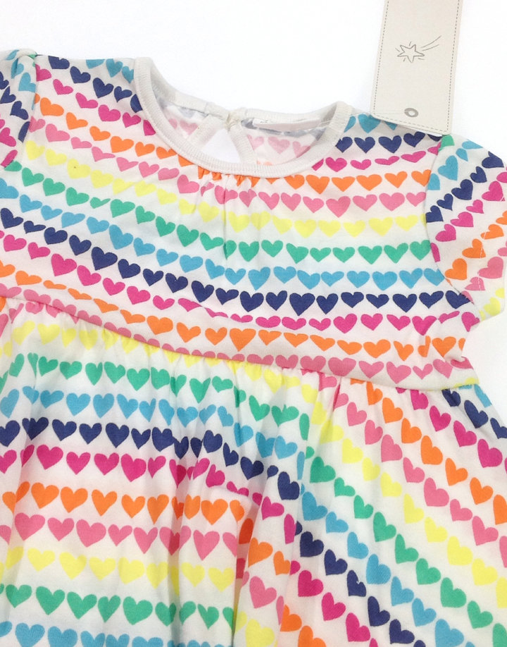 F F színes szívecske mintás baba ruha F F színes szívecske mintás baba ruha 5737009697