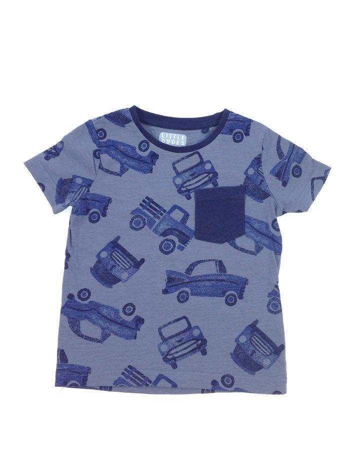 Tu autó mintás kisfiú póló  6c4f37c5e2