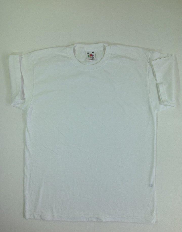 Fehér pamut póló