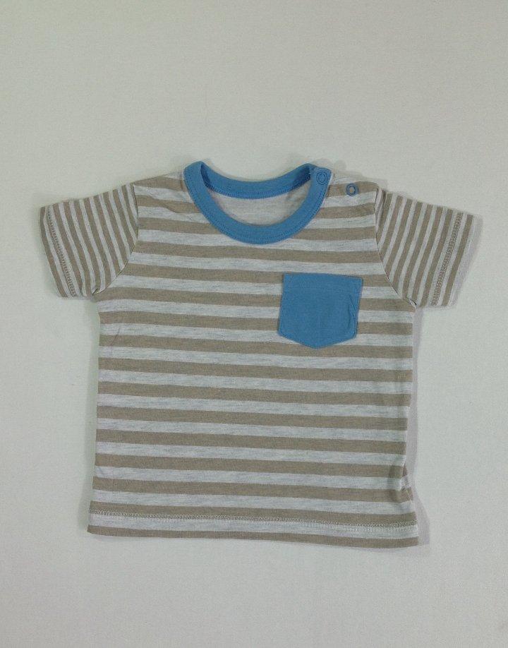 Csíkos baba póló