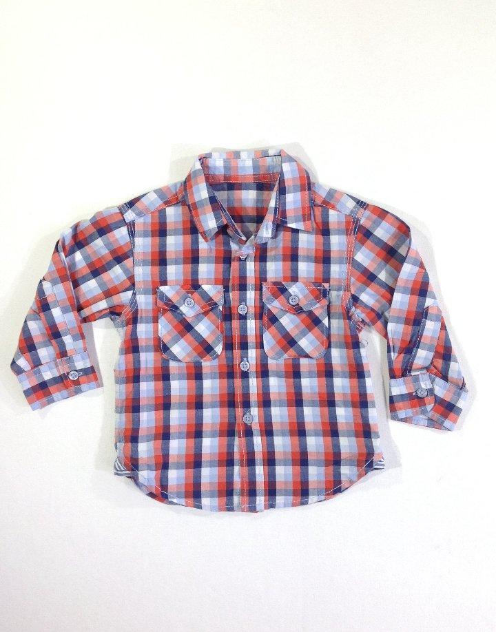Rebel színes kockás ing