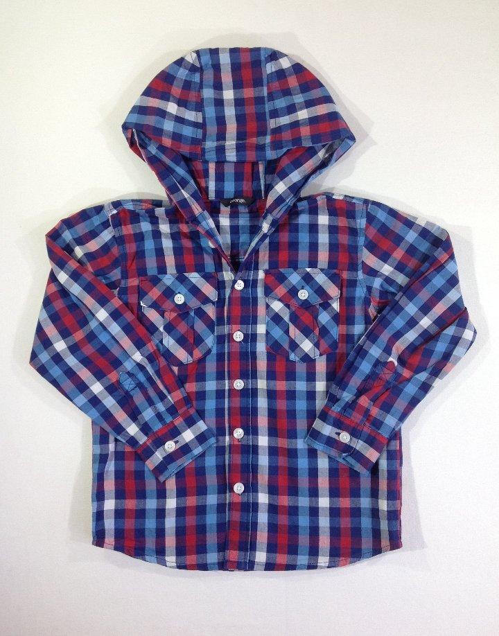 George színes kockás ing
