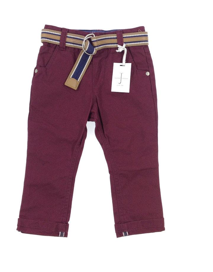 Jasper Conran elegáns kisfiú hosszúnadrág övvel  412d388341