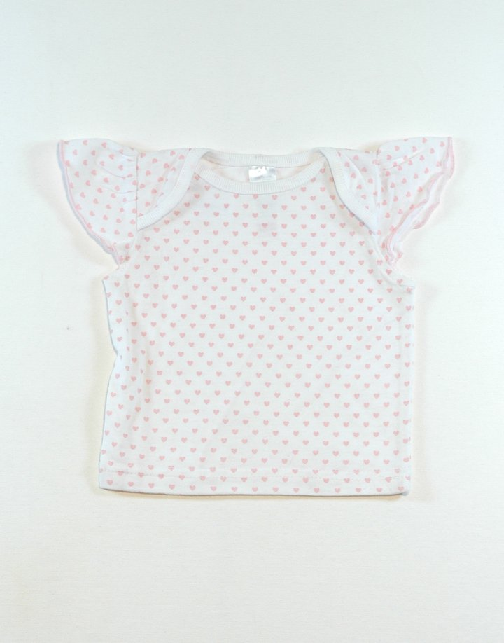 Rózsaszín szívecskés,kislány póló