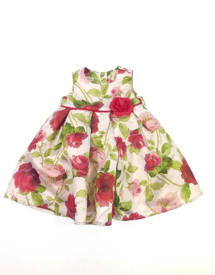 Monsoon rózsa mintás baba alkalmi ruha  fc72e0185d