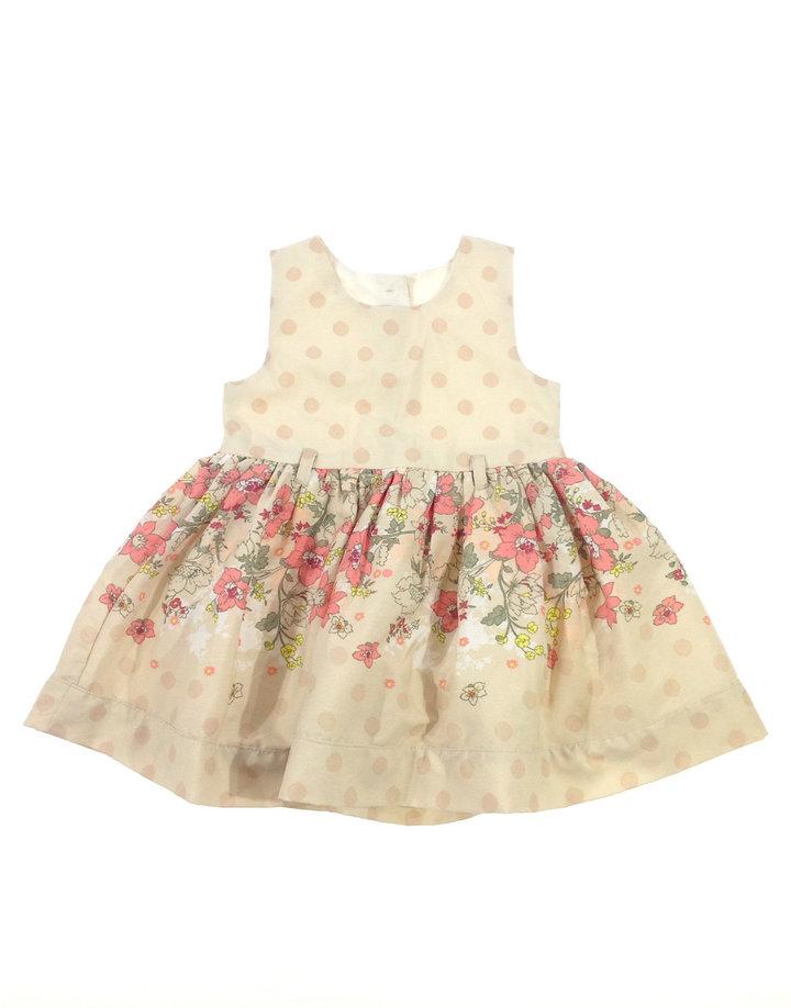 Matalan virág mintás baba alkalmi ruha  070936b896