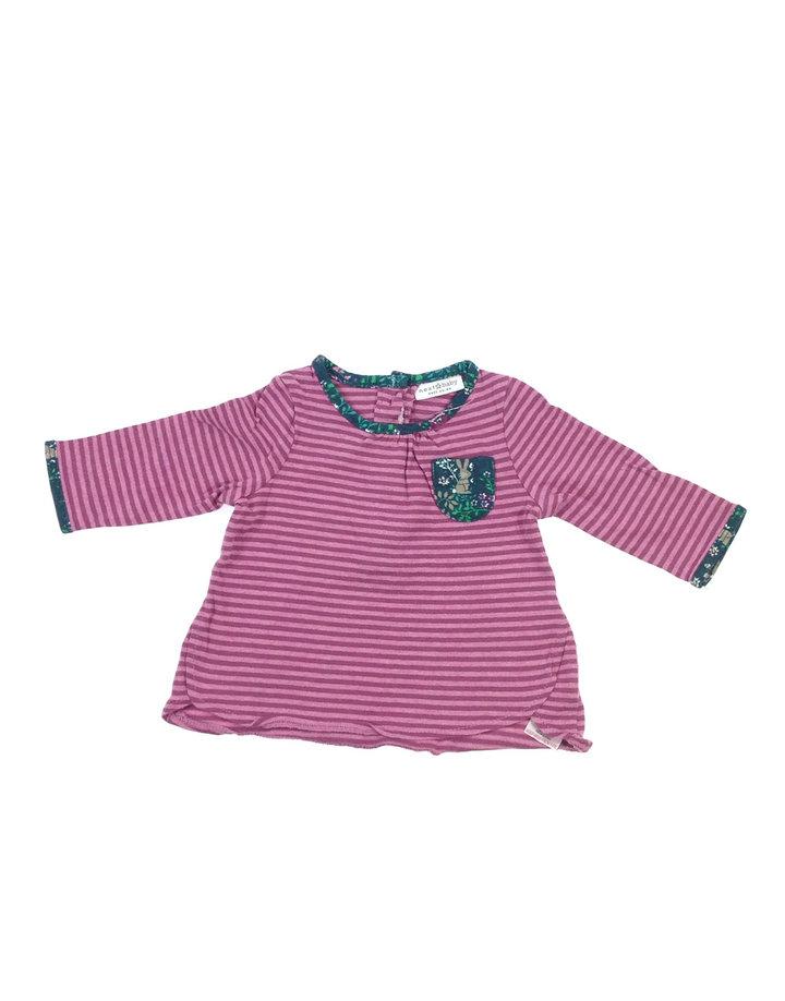 9233629789 Next rózsaszín csíkos baba felső   Gyerekruha Klub