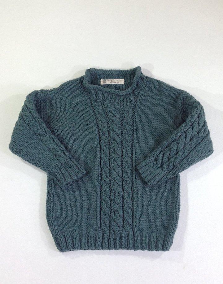 Kézi kötött pulóver   b7fe79d9ad