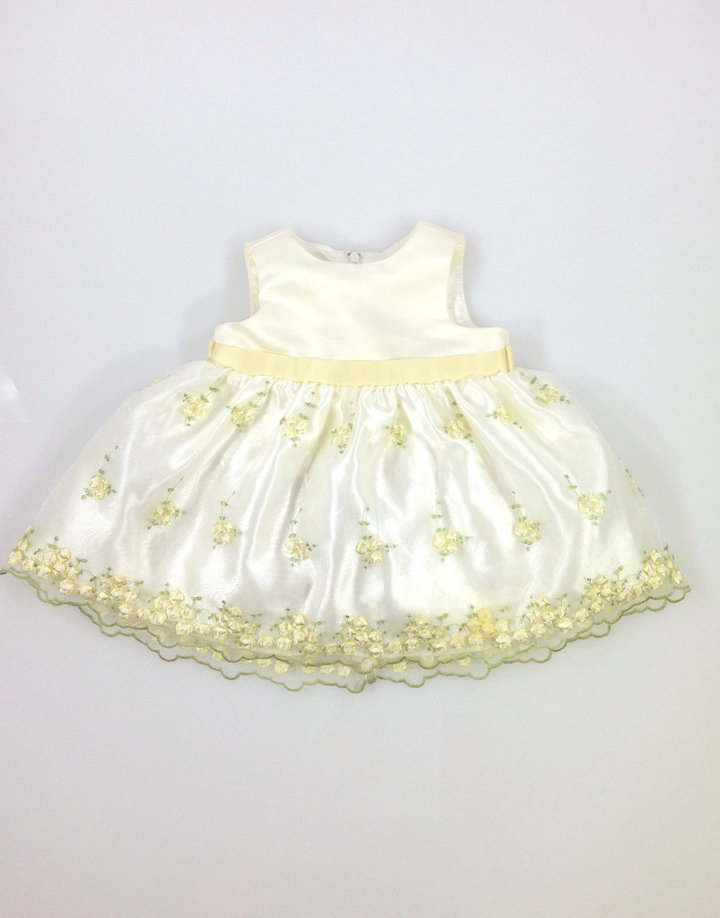 d333f6ffb6 Cinderella virág mintás baba keresztelő ruha | Gyerekruha Klub