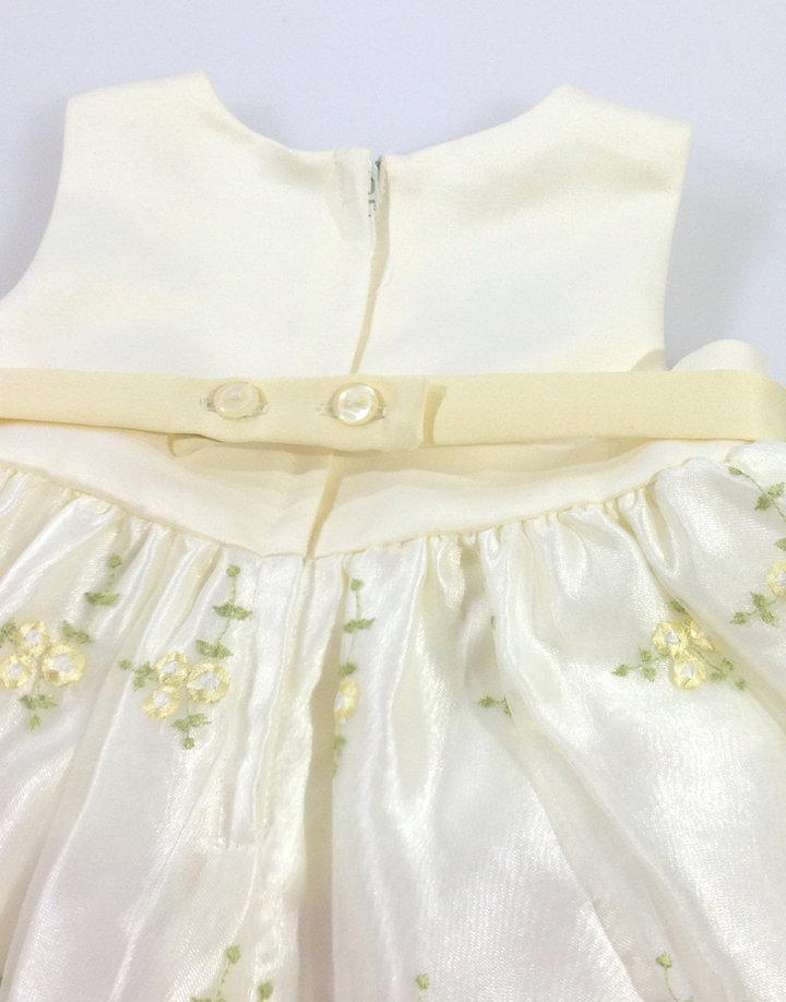 ... Cinderella virág mintás baba keresztelő ruha ... 7e17f8922a