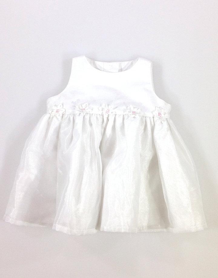 Marks   Spencer fehér kislány alkalmi ruha  783ba915a7
