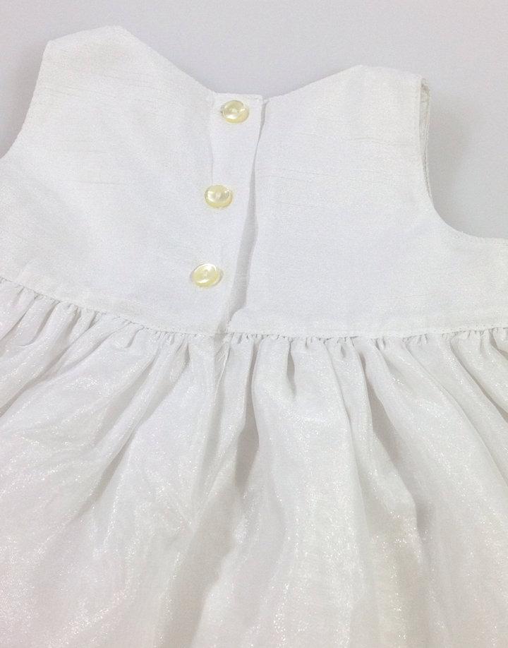 51b9de4ae3 Marks & Spencer fehér kislány alkalmi ruha - 3290 Ft ...