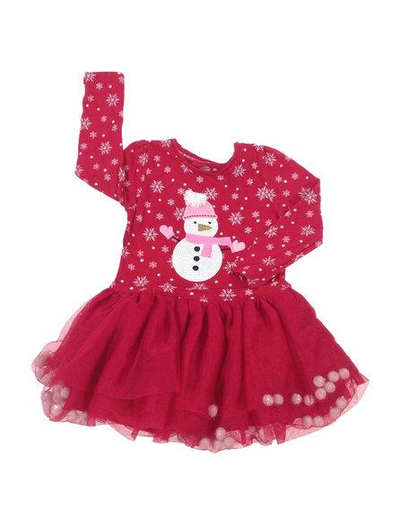 590247c9a8 F&F karácsonyi mintás kislány ruha | Gyerekruha Klub ?