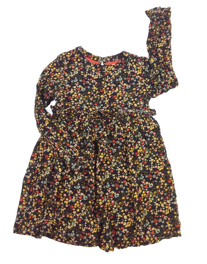 St. Bernard apró virág mintás kislány ruha  326ec8b809