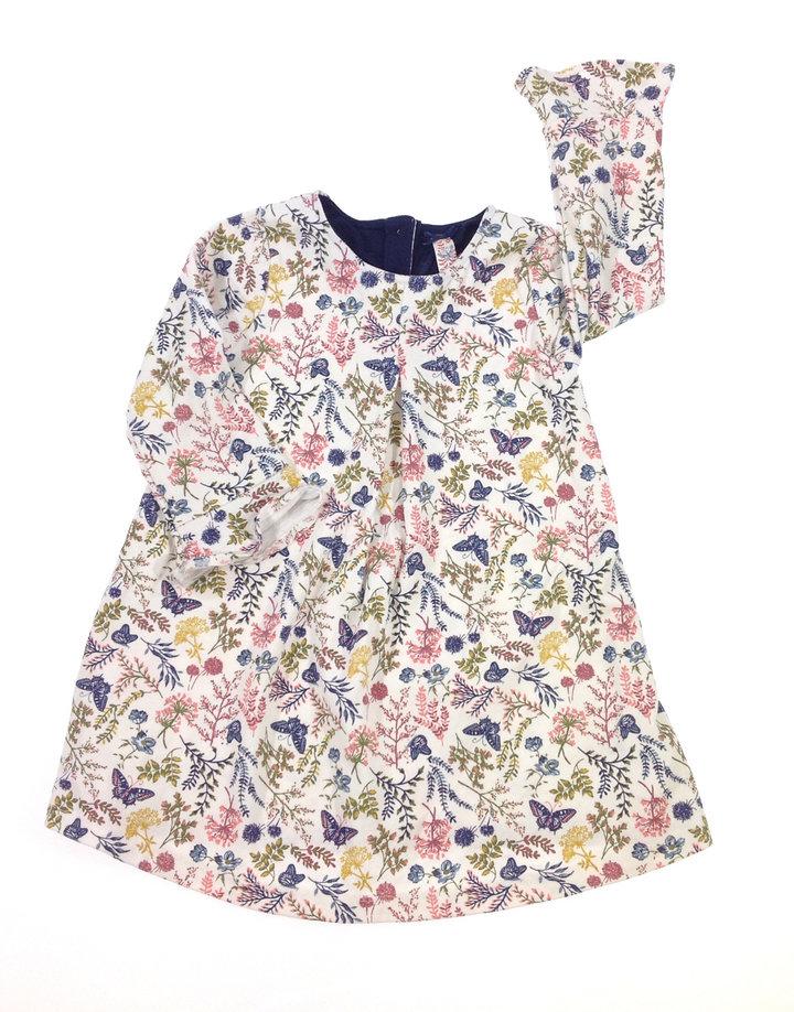 St. Bernard pillangó mintás kislány ruha  f9d1b5c8d0