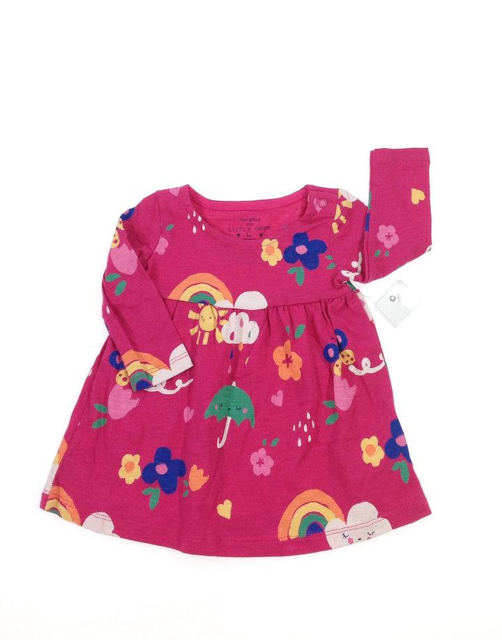 F F nyári mintás baba ruha  84b0c40b42