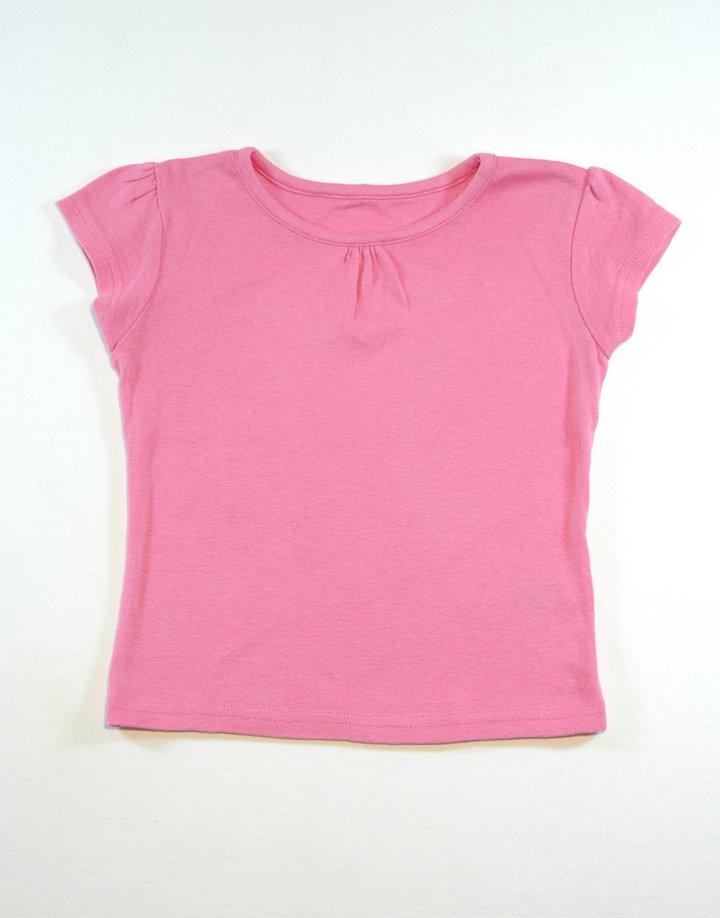 Rózsaszín kislány póló