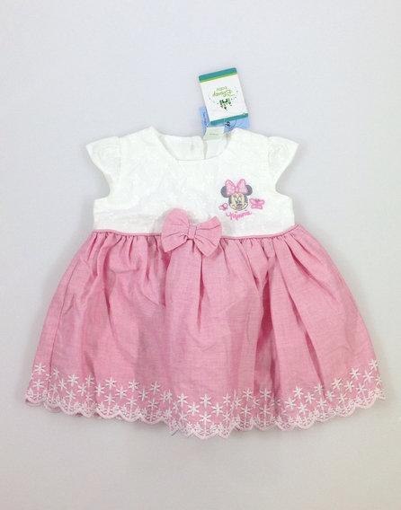 Disney Minnie mintás baba ruhácska 056214c4d9