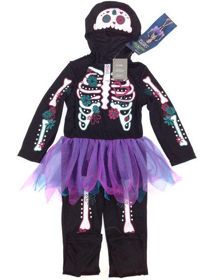 George csontváz mintás kislány jelmez 7e98937030