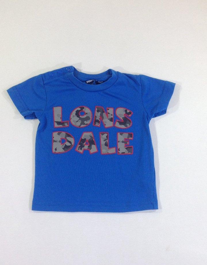 Lonsdale nyomott mintás baba póló