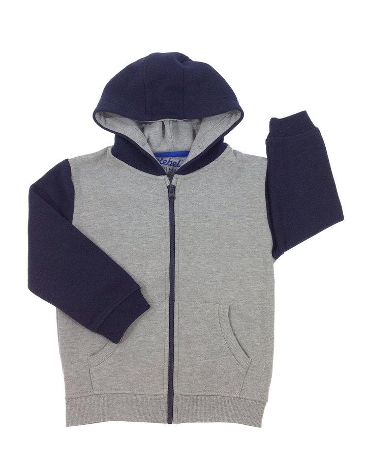 Rebel szürke kisfiú pulóver  e1fe7b1a49
