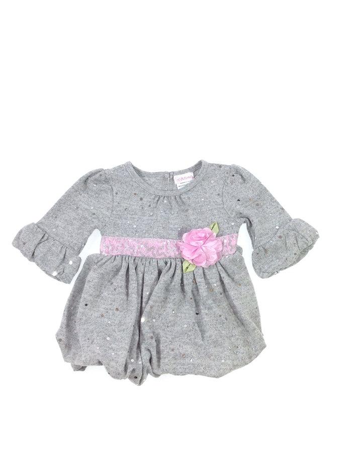 Youngland szürke baba alkalmi ruha  23814abf74