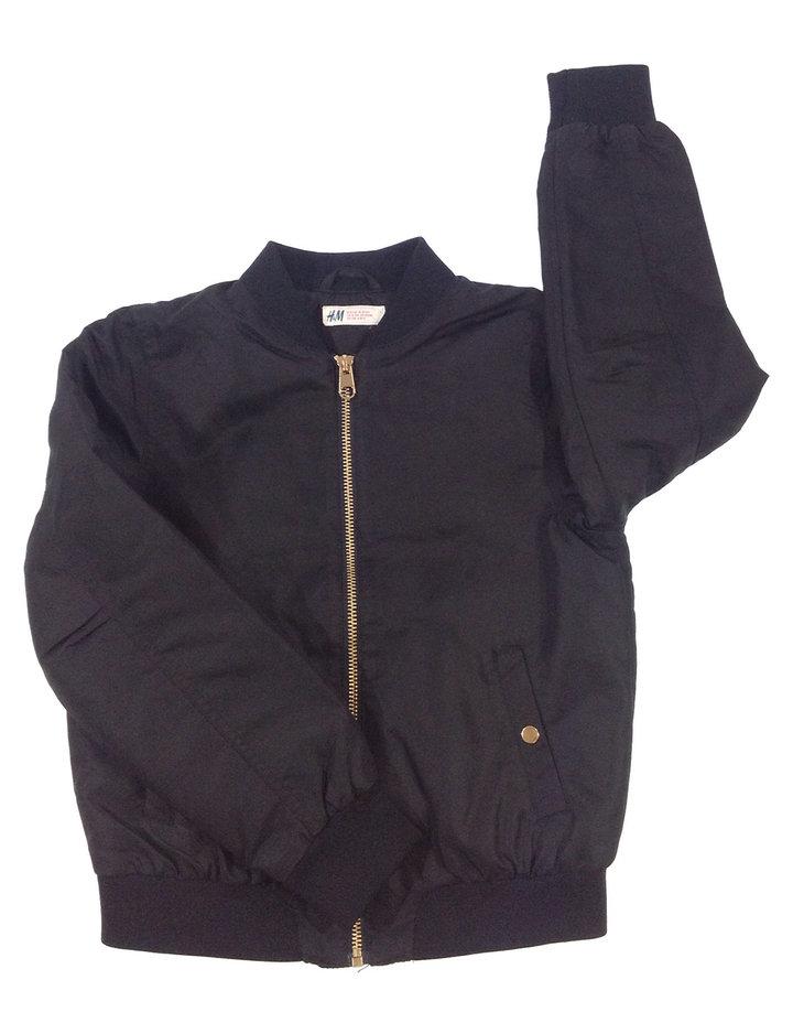 edf19ab110 H&M fekete kabát | Gyerekruha Klub
