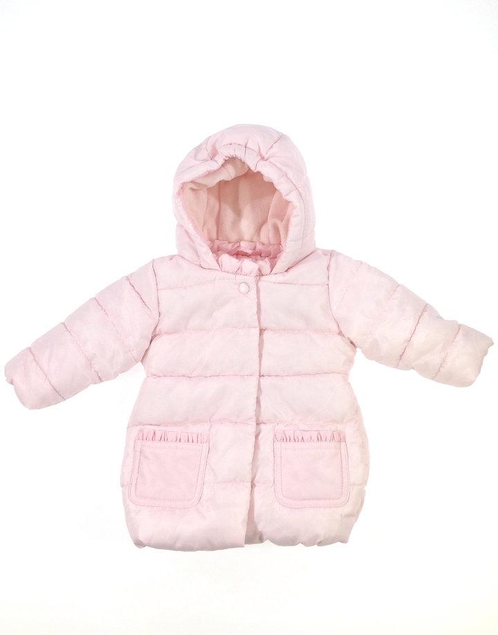 Benetton halvány rózsaszín baba télikabát  e20796d9bc