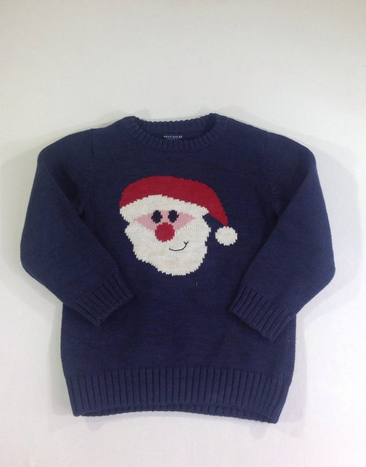 5092d7167a NEXT vastag kötött Mikulás mintás pulóver ?