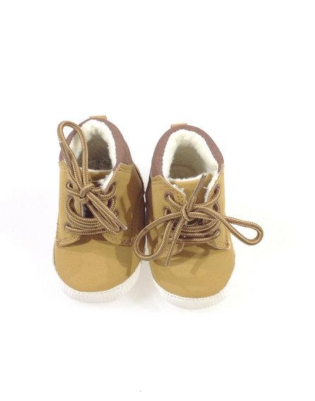 Baby blush boutique barna kockás baba cipő  265459430d