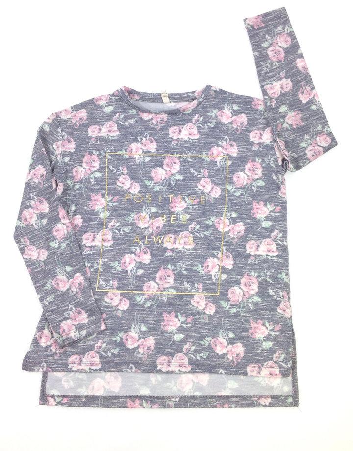 b819902a5d Y.d. rózsa mintás lány felső | Gyerekruha Klub ?