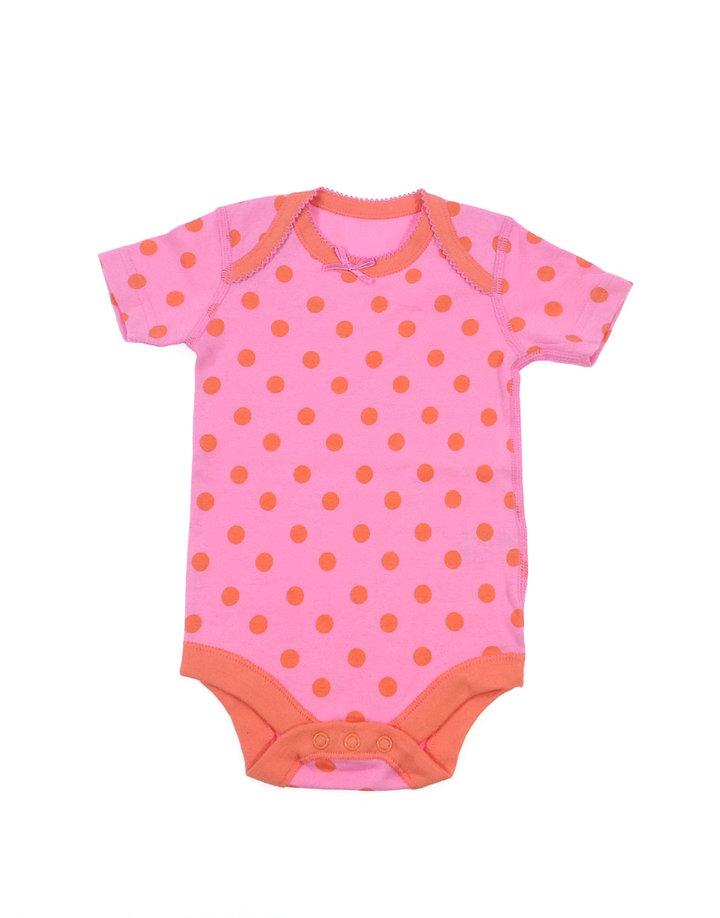 Waitrose rózsaszín pöttyös kislány body  80e7052c5f