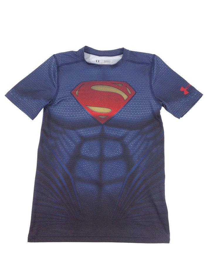 Heatgear Superman mintás fiú sportfelső  9b9555dd60