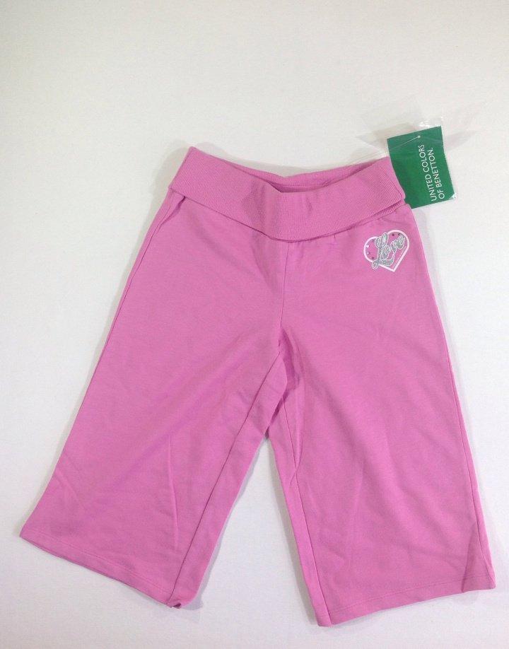 Benetton rózsaszín pamut halásznadrág