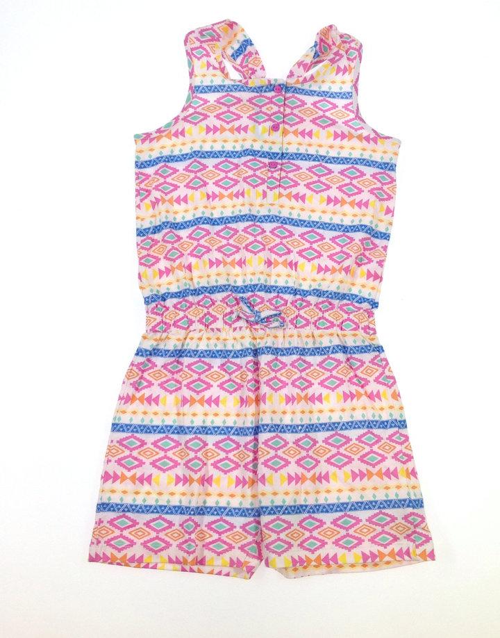St. Bernard színes kislány rövidnadrágos ruha  370430b63e