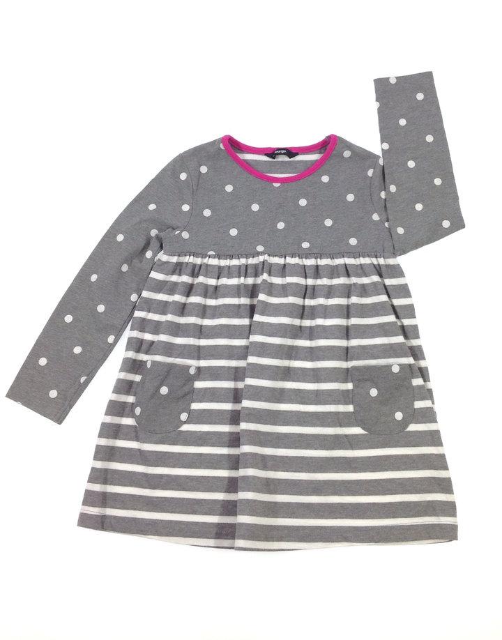George csíkos-pöttyös kislány ruha  674f9cfe59