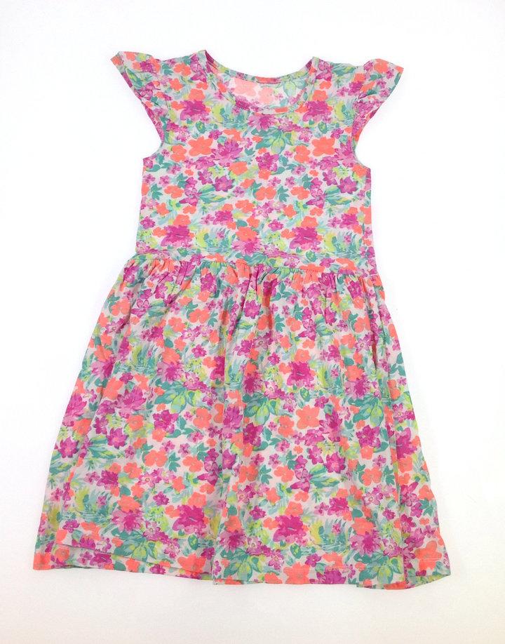 St. Bernard virág mintás nyári ruha  140a47c657